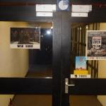 L'entrée de la salle du tournoi