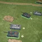 Les Russes espèrent prendre de vitesse les Tigres, mais les Panther en arrière sont une difficulté.
